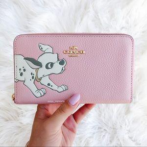 Coach x Disney Dalmatians Dog Wallet